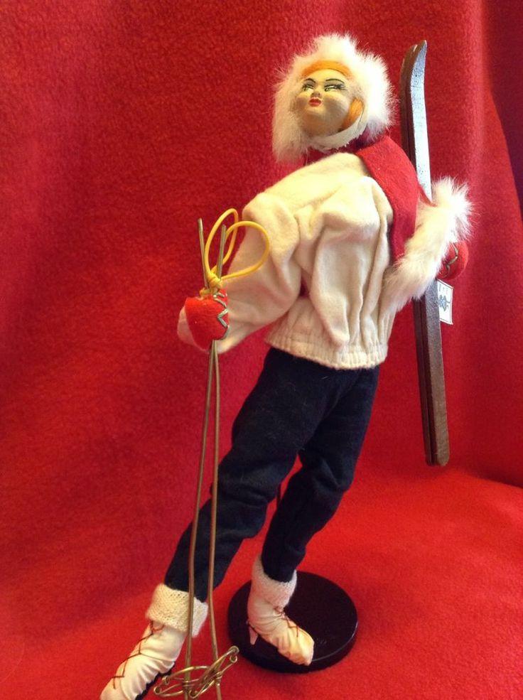 SOLD Vintage Layna Doll- Skier
