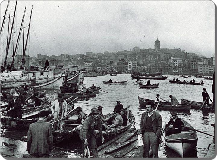 Haliç (1956) F: Ara Güler  #istanbul