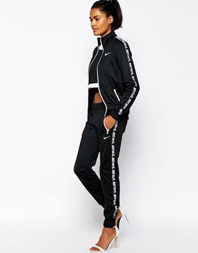 Enlarge Nike Cuffed Tracksuit Set
