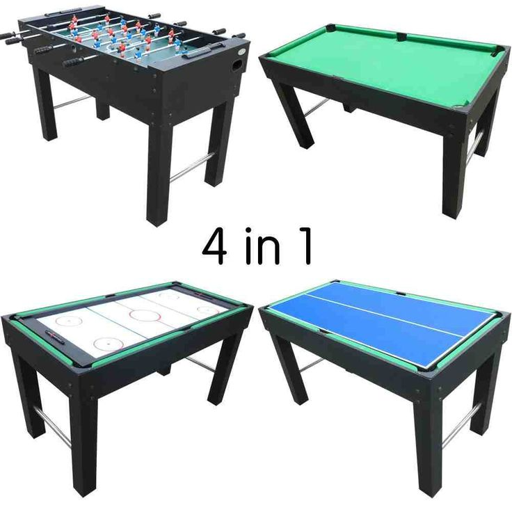 Gamesson 4' Venus 4 in 1 combination games Combi Tables - Availability: in stock - Price: £199.99