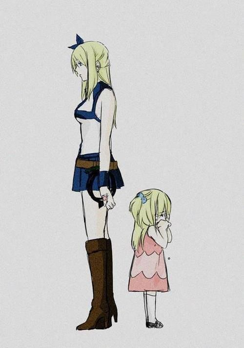 Lucy is not the little crying girl she use to be. She is stronger she has changed.
