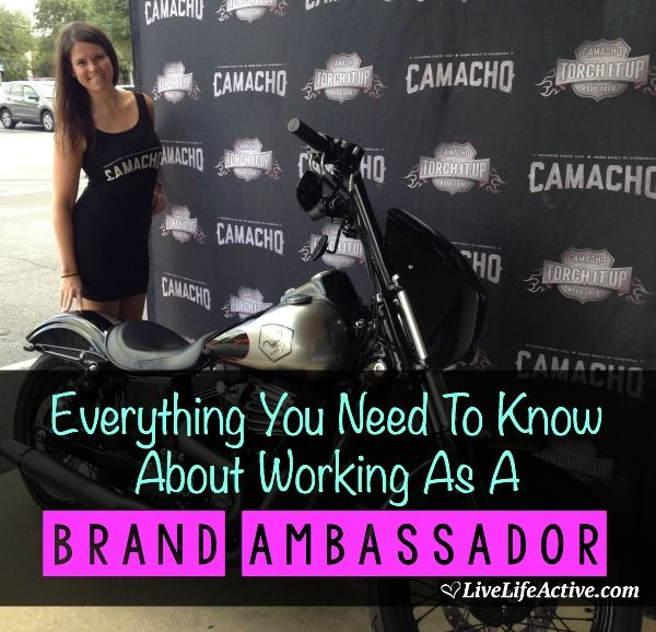 Working as a Brand Ambassador - everything you need to know about how to get a job, what to do and how much you get paid!