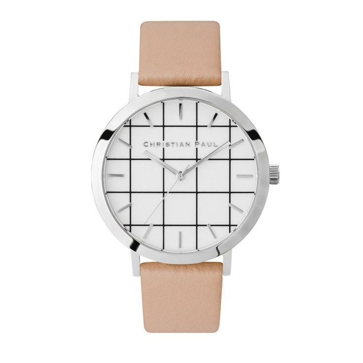 """43mm AIRLIE GRID Watch by Christian Paul Watches Grid Collection