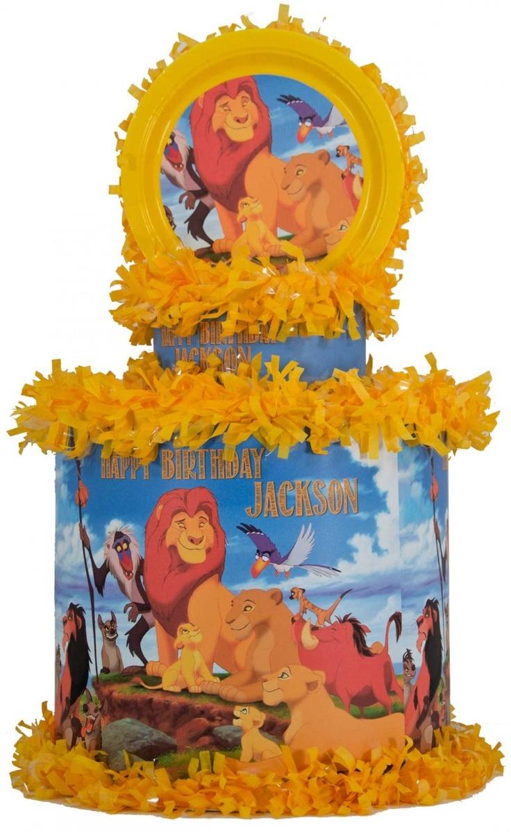 World of Pinatas - Lion King Personalized Pinata, $39.99 (http://www.worldofpinatas.com/lion-king-personalized-pinata/)