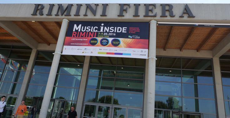 7-8-9 maggio Adcom è presente al Music Inside Rimini. Vi aspettiamo! #Rimini #fiera #video #audio
