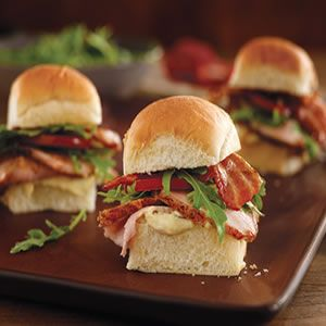 Spice-Rubbed Pork Loin BLT Sliders with Dijon Remoulade | FOOD & DRINK ...