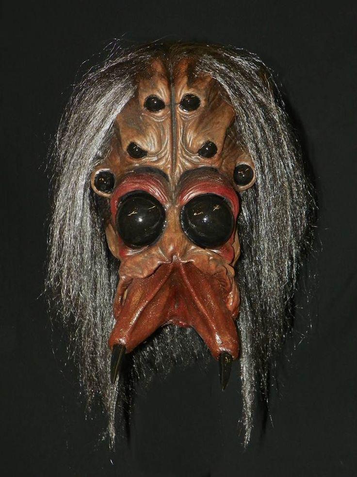 Aracnoid full over the head latex horror mask - Halloween