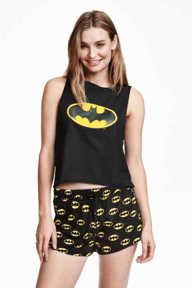 Pyjama en jersey de coton souple BATMAN!!!!!! H&M 29.90