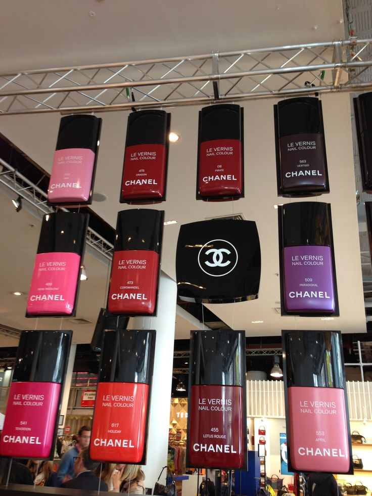 another amazing colour pallette from Chanel