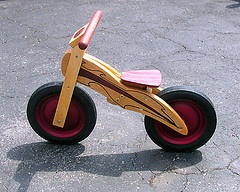 DIY Wooden Coaster Bike by the Crumley Family: Awesome! Here is the link for the pattern PDF http://tinyurl.com/dfveby
