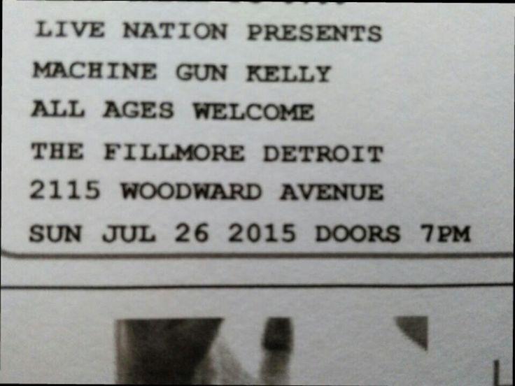 Got my tickets!!