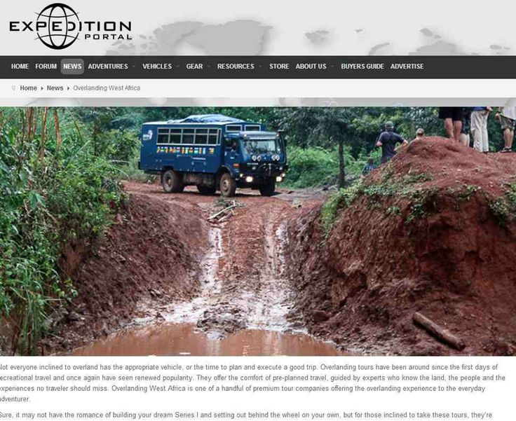 Overlanding West Africa featured on #Expedition Portal