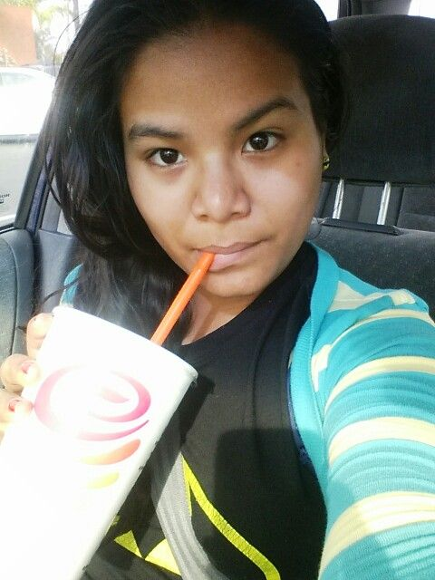 Loving my Jumba Juice #fruity