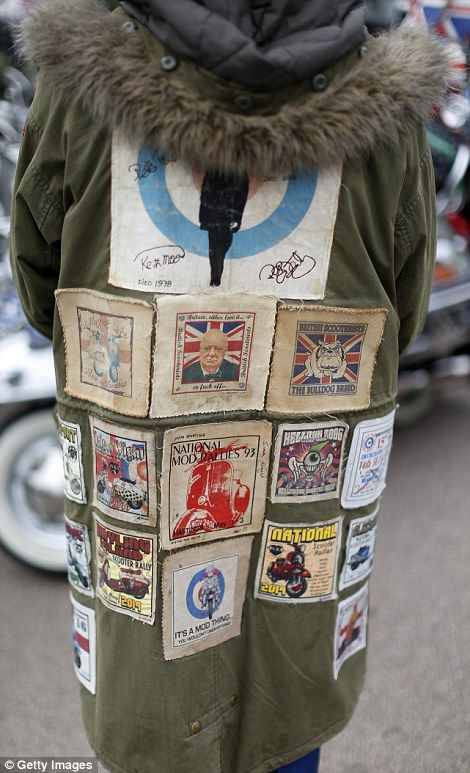Veterans return for a nostalgic day out more than 50 years after the Mods fought…