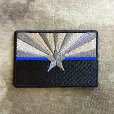 Resultado de imagen de thin blue line patch