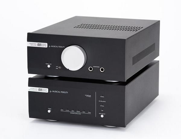 Musical Fidelity M1 HPA, anytime , anyplace , on display at www.stereo-passion.com