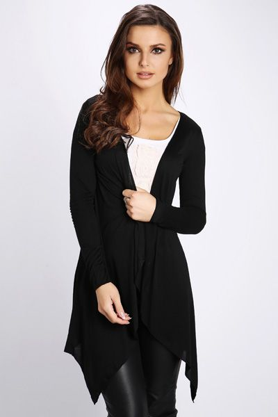 Basic Open Front Waterfall Cardigan @ Everything5pounds.com