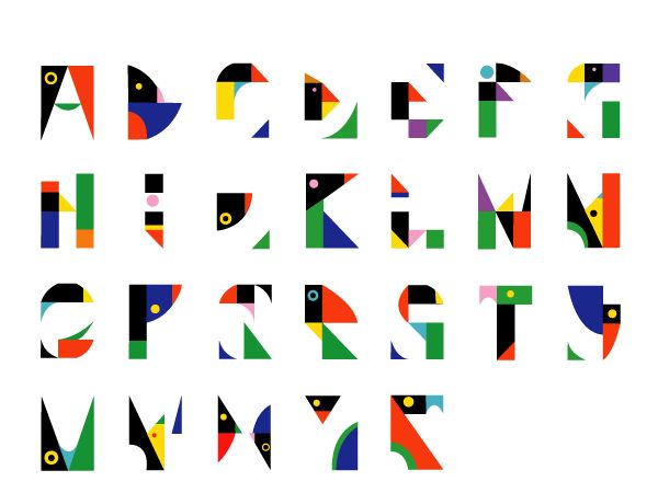 Creator of a modular typeface based on posters and graphic work by famous Japanese graphic designer Tanaka Ikko (1930-2002). Johanna Mostert