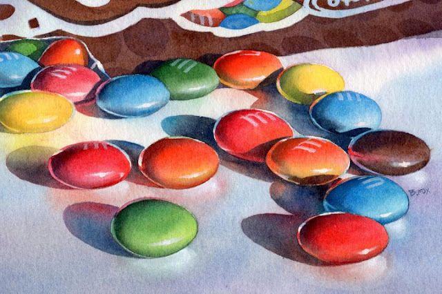 Barbara Fox | American watercolor painter | Tutt'Art@
