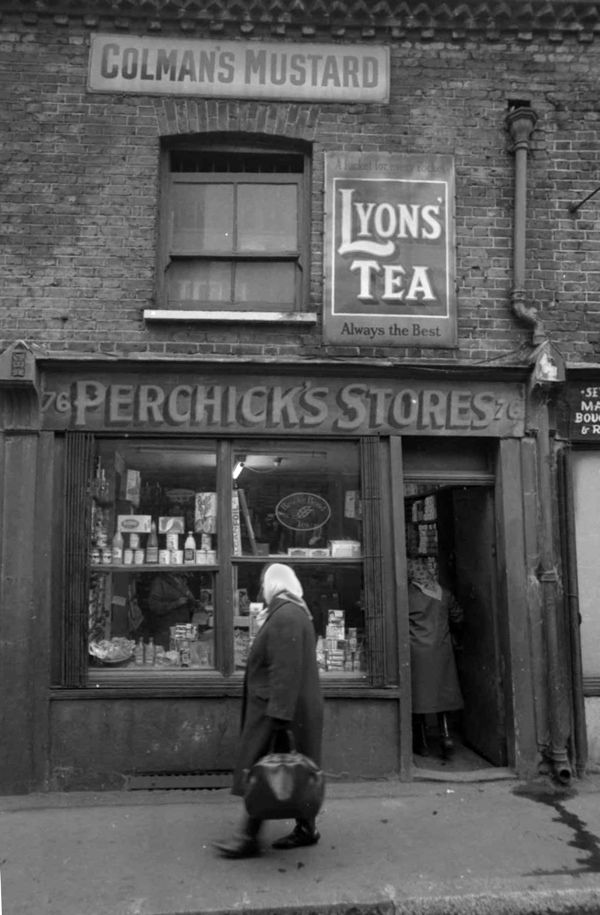 Perchick's Stores, East End of London. We love shops and shopping. That's it - theretailpractice.com, www.facebook.com/shoppedinternational and www.twitter.com/shopped