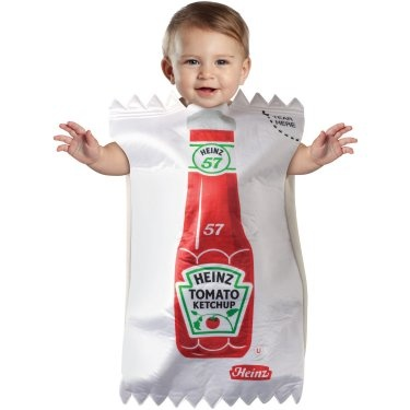 really unique costume a ketchup packet - Kids Angel Halloween Costume
