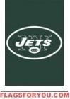 """Jets Mini Flag 15"""" x 10 1/2"""""""
