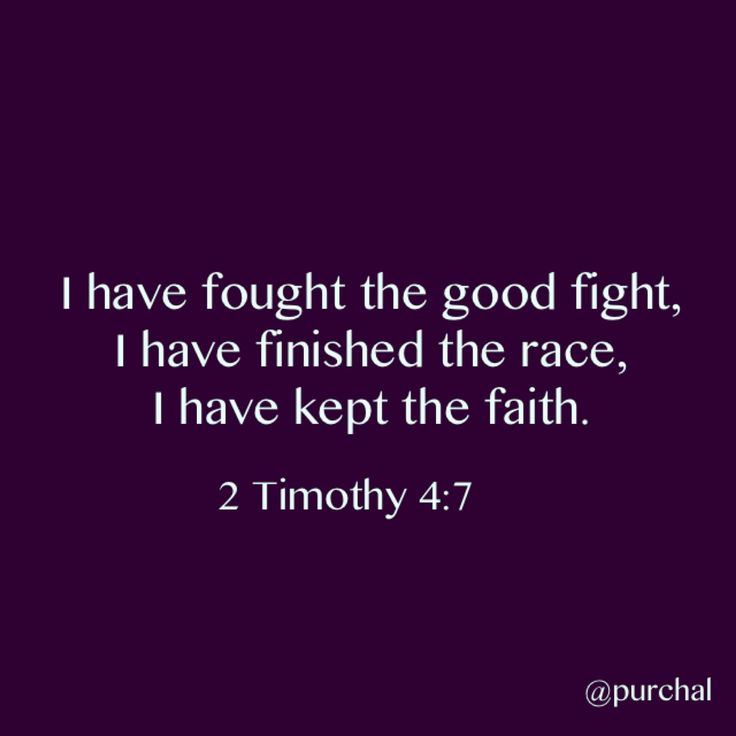 2 timothy 4 7 - Google Search