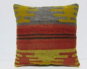urban fabric 18x18 extra large pillow cover kilim pillow red decorative pillow purple throw pillow outdoor pillow cover floral pillow 30109