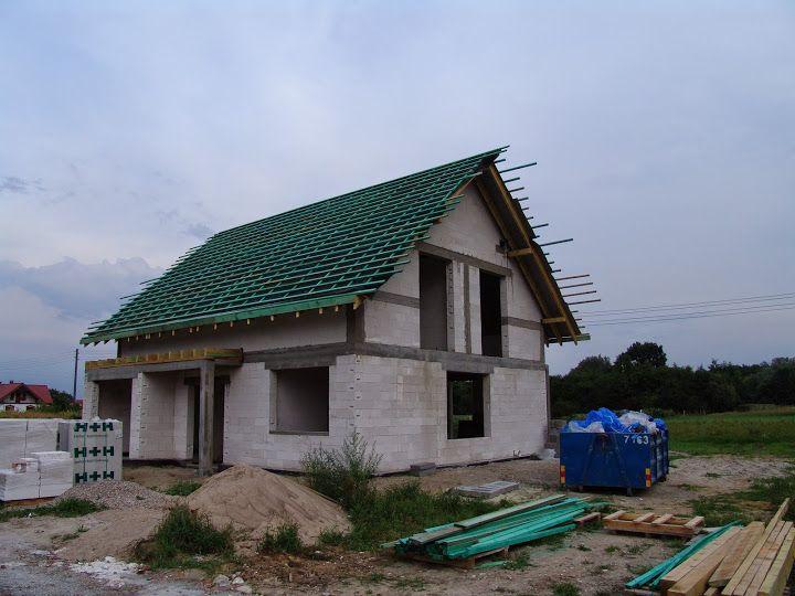 Kolejne etapy prac  #budowa #dach #projekt #dom