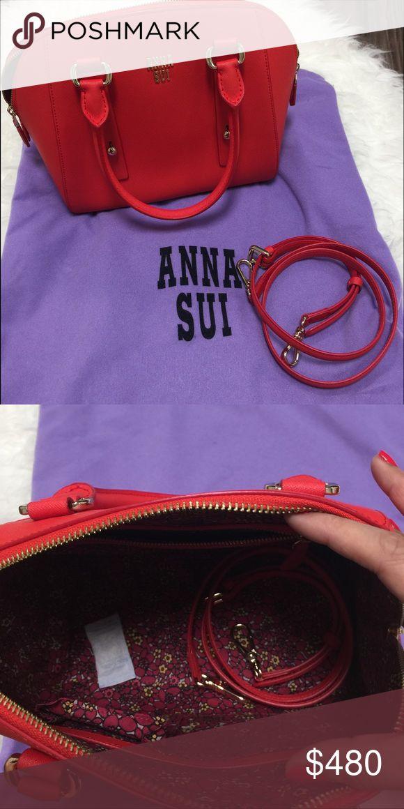 Anna Sui handbag NWT Brand new Authentic Anna Sui handbag with cross body chain Anna Sui Bags Crossbody Bags