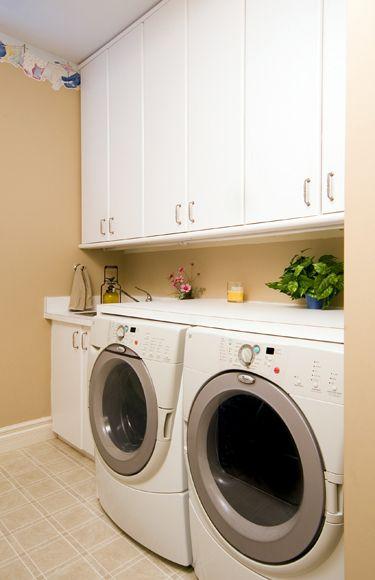 simple laundry room