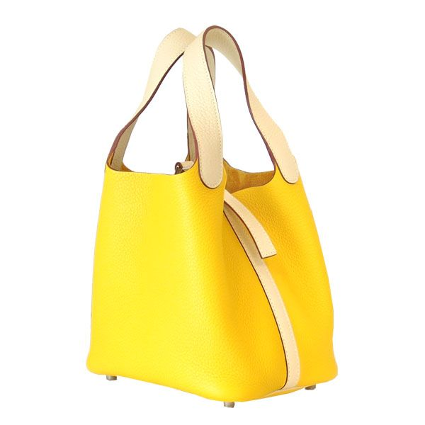 Hermes Picotin Leather Bags In Yellow | Fashion Shopping ...