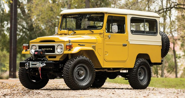 Explore Parts Unknown With This Drool-Worthy Land Cruiser For Sale. High voltage.