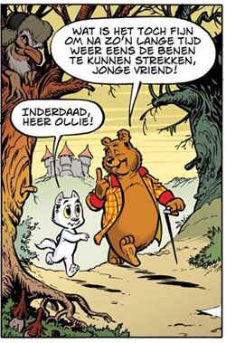 Ollie B. Bommel en Tom Poes, the most amazing, fantastical and clever comic book series. By Marten Toonder