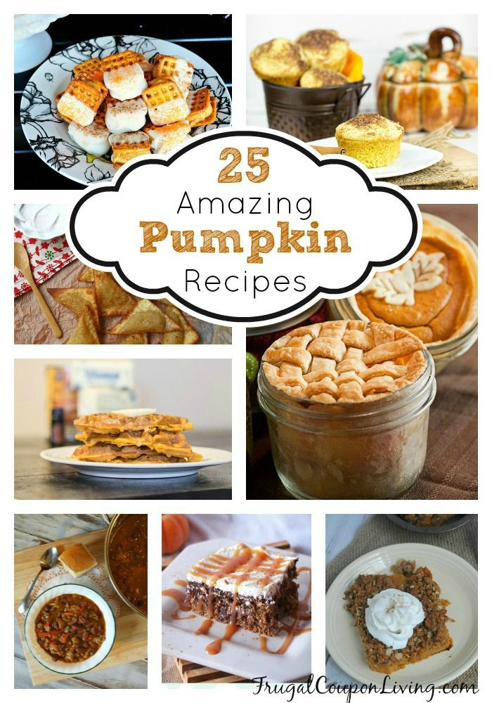 25 Amazing Pumpkin Recipes for the Fall