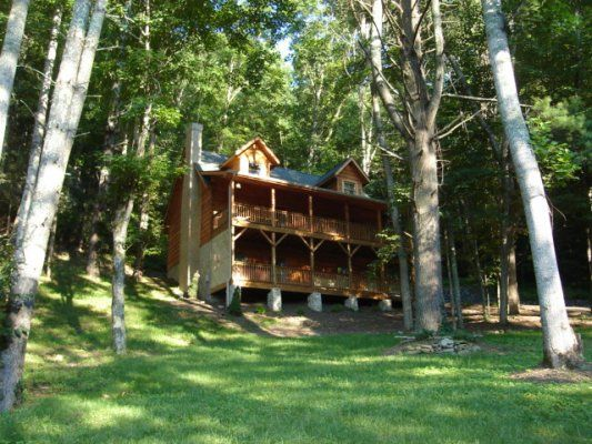 A Riversound - Blue Ridge NC Mountain Cabin Rentals Blowing Rock NC Boone NC