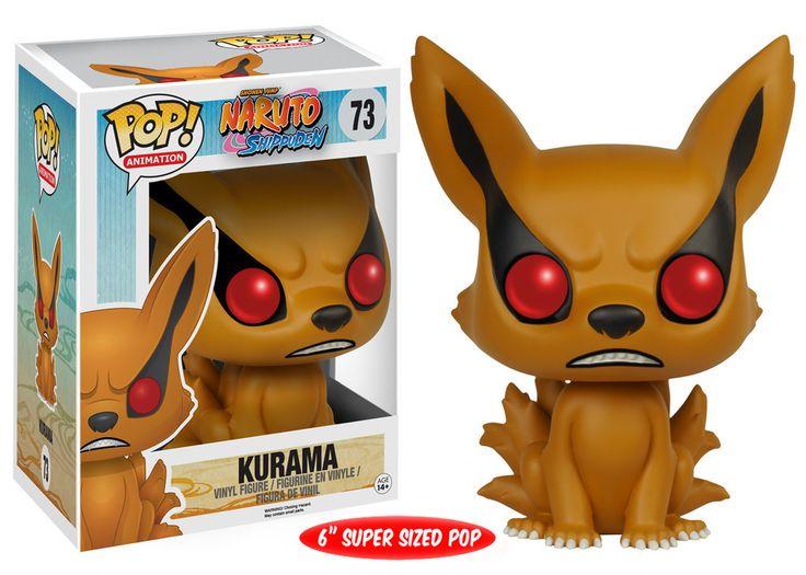 Figurine Naruto Shippuden Funko POP! Kurama 15cm - Figurines Manga/Naruto - 1001-Figurines