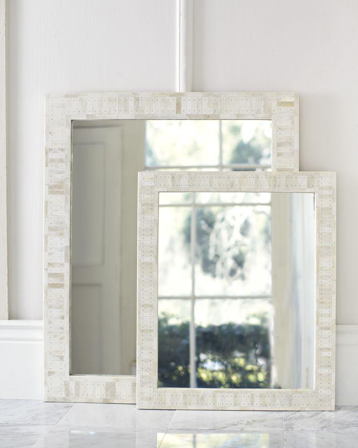 Cyprus Bone Inlay Mirror