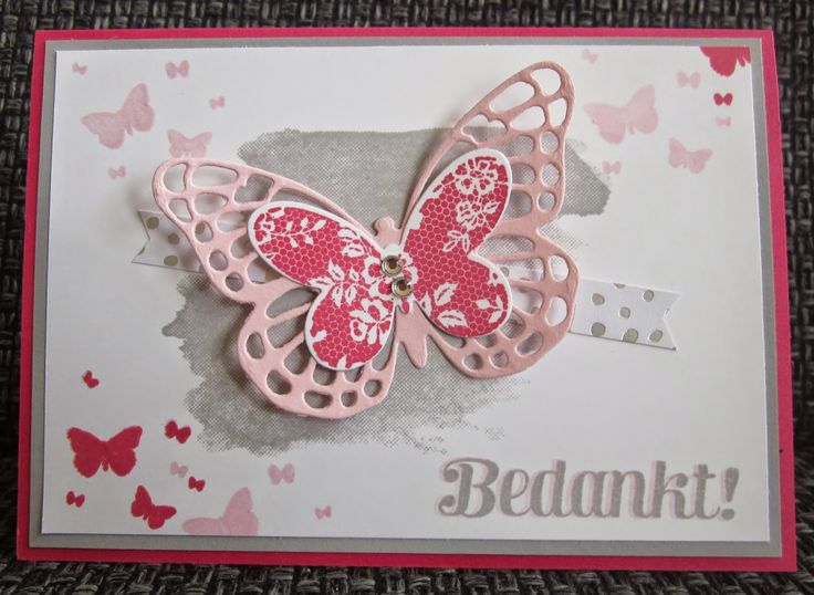 Stampin Up, butterfly basics, perpetual birthday calender