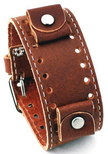 http://pebblewatchbands.net/nemesis-sth-b-brown-wide-leather-cuff-wrist-watch-band/ Nemesis Wide Cuff Band Watches brings you the coolest, cutting edge wrist watches in the world. From pocket watches to wrist watches, a Nemesis Watch will redefine your style with a vengeance.