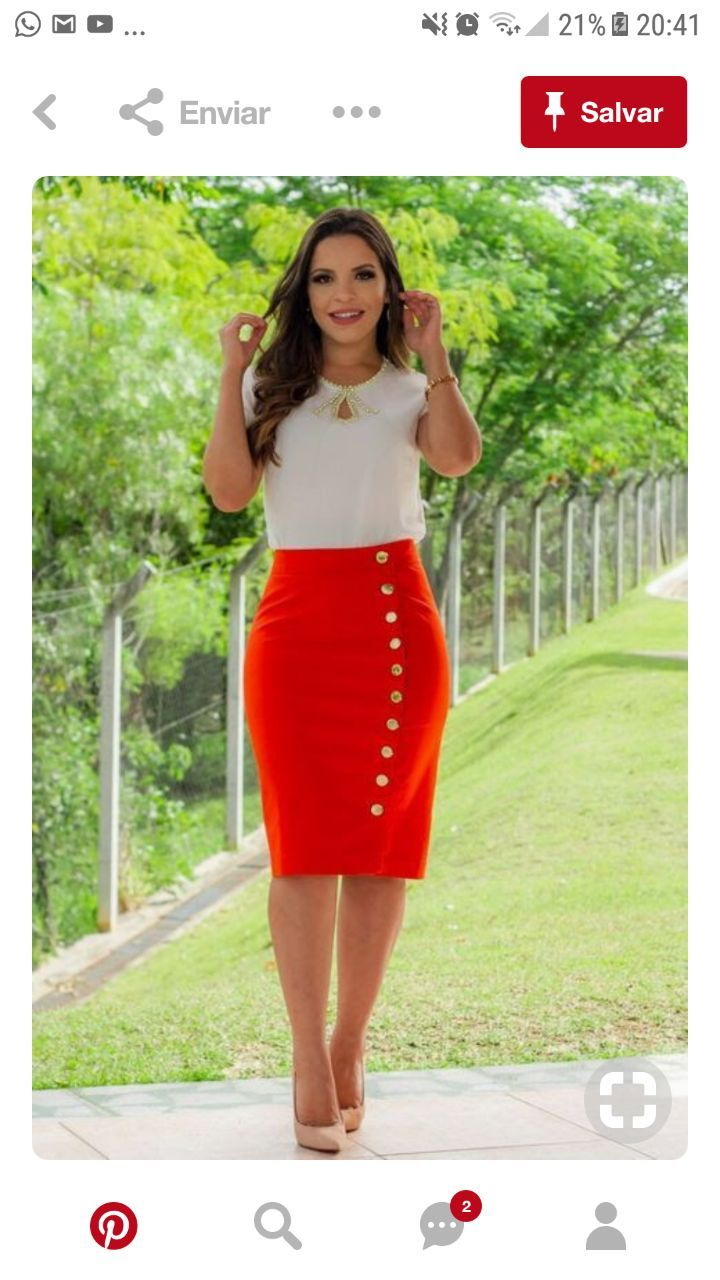 Pin By Karim Kebdi On Hey Ladies Fashion Pencil Skirt Women