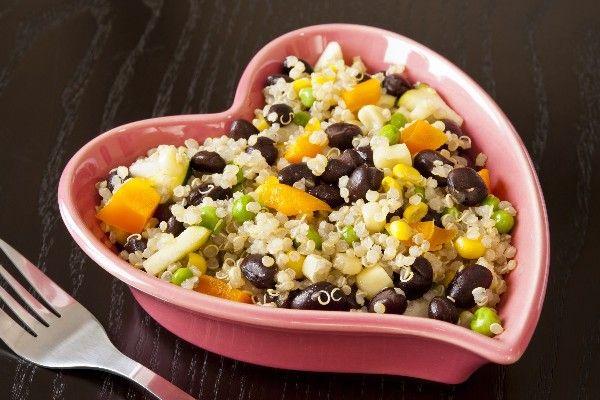Quinoa, Black Beans & Corn Seasoned with Cumin & Cilantro #Recipe: a ...