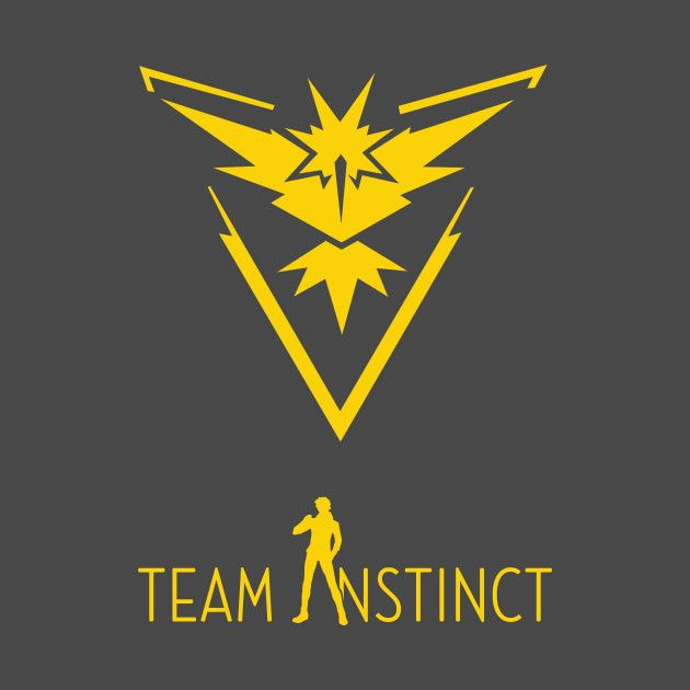 Check out this awesome 'Team+Instinct+Pokemon+Go' design on @TeePublic!