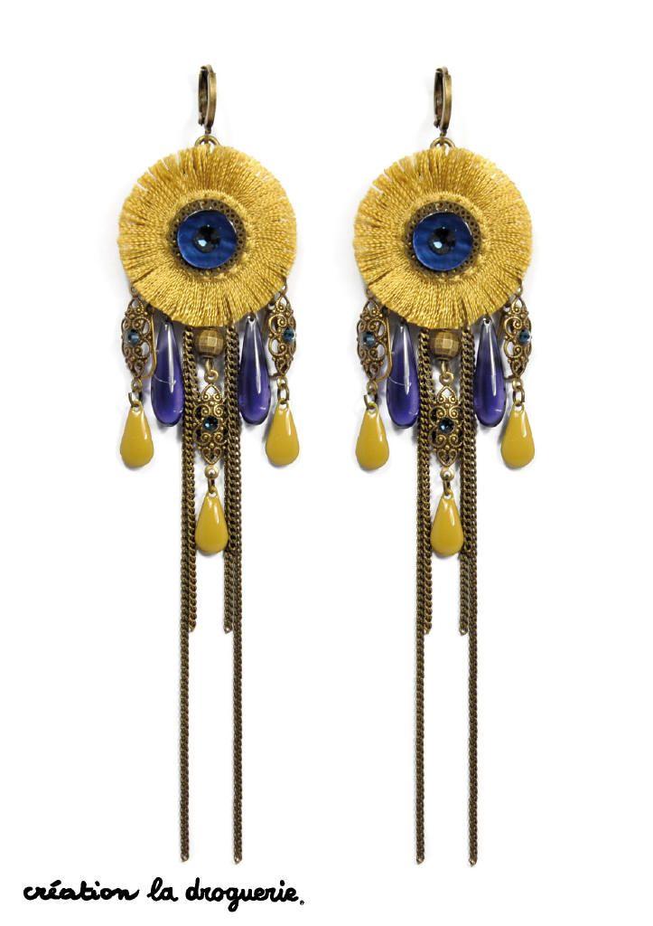 On aime ces petites BO longues et fines pour habiller nos oreilles ! #ladroguerie #bijoux #BO