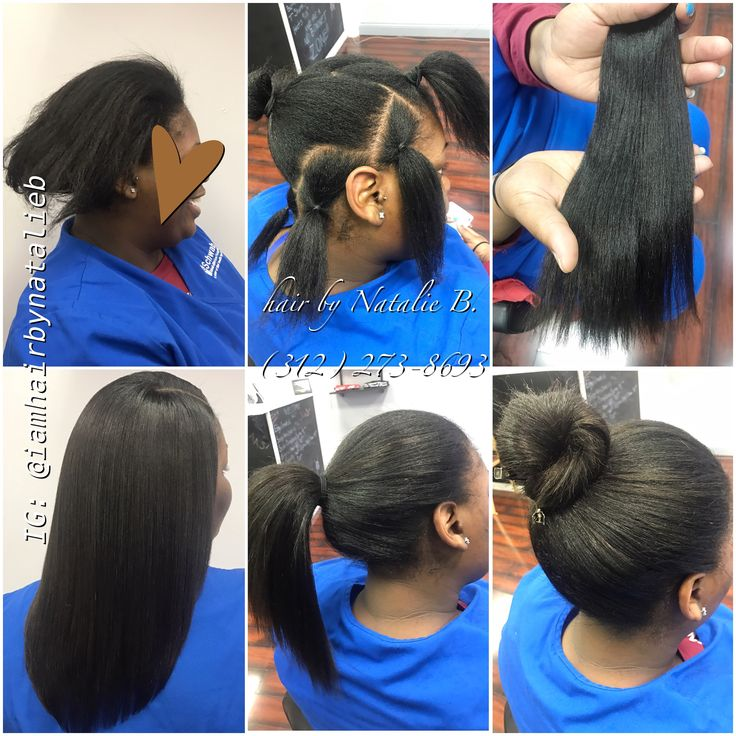 "Now THIS is a natural-looking, versatile sew-in!....PERFECT PONY™ SEW-IN by Natalie B. ---Call or text (312) 273-8693 to schedule your appointment! • • • HAIR USED: Malaysian Relaxed Natural in 12/12"", available online at www.naturalgirlhair.com @naturalgirlhairimports"
