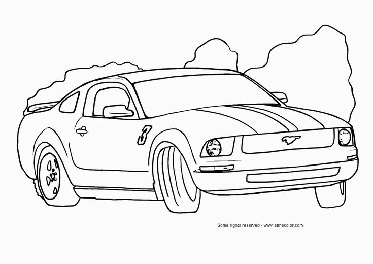 67 best Ford - Coloring Pages images on Pinterest | Mustang, Adult ...