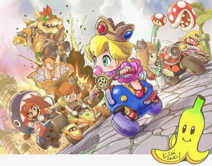 Mario Kart 8 Artwork