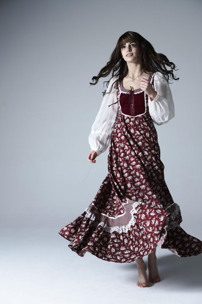 I can't find a brown velvet one (like Claire's) but I think the brand was Gunne Sax