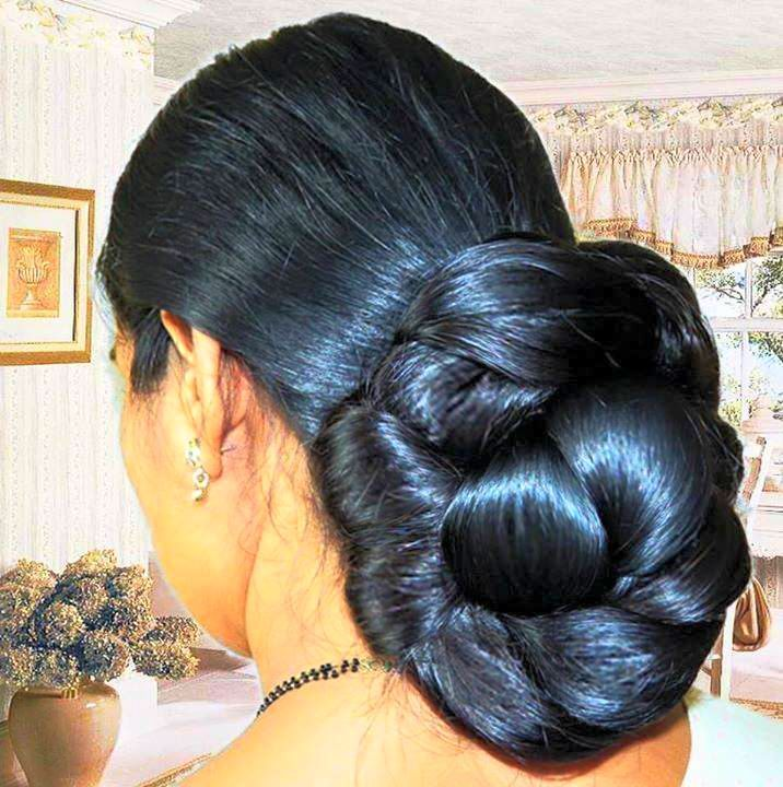 2416 Best Images About Indian Low Bun Hair Styles On