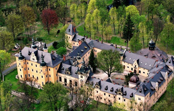 Castle - Zamek Kliczków, Poland